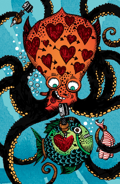 pieuvre tatoueuse