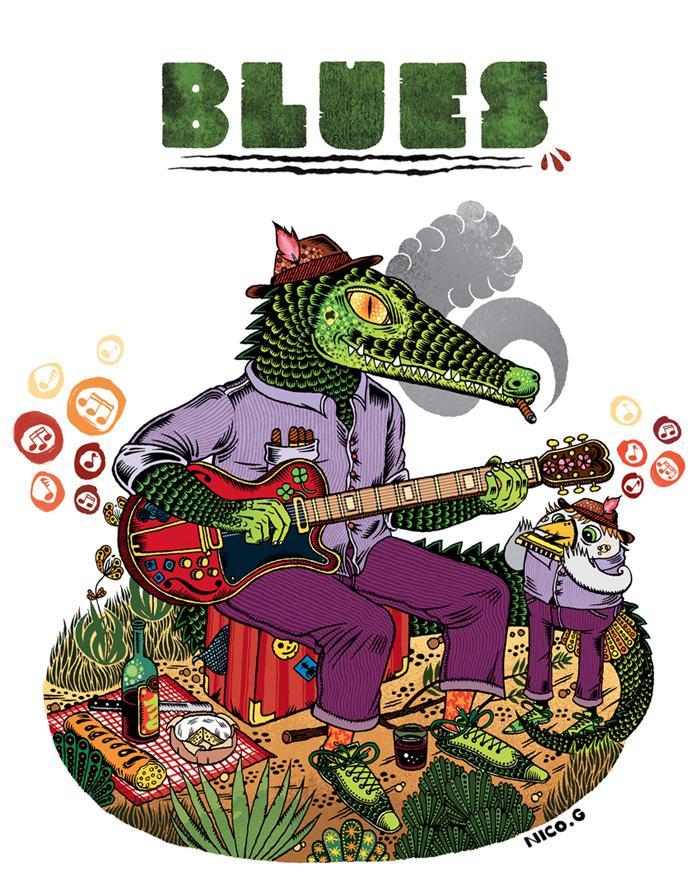 croco-blues